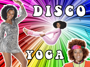 disco yoga 2013 graphics